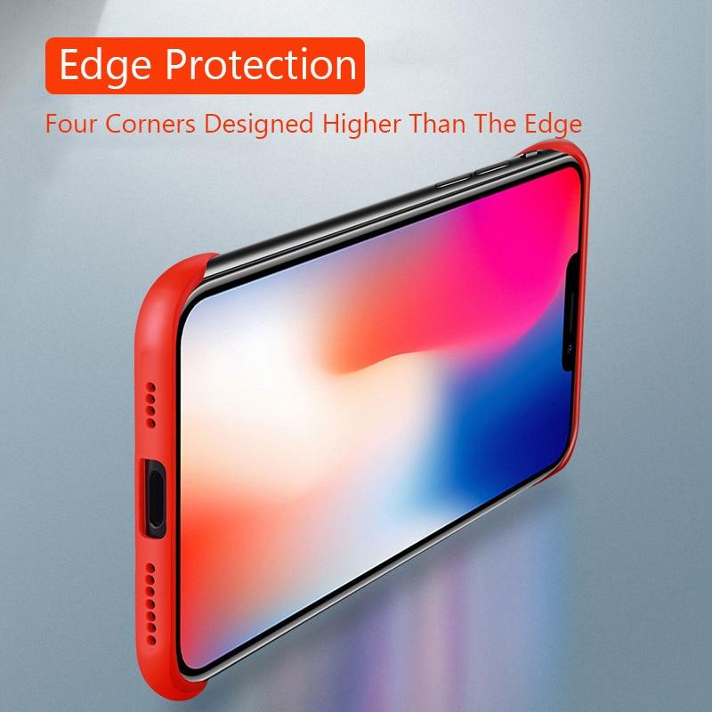 Frameless Slim Matte Hard Back Cases for iPhone 11/11 Pro/11 Pro Max 2