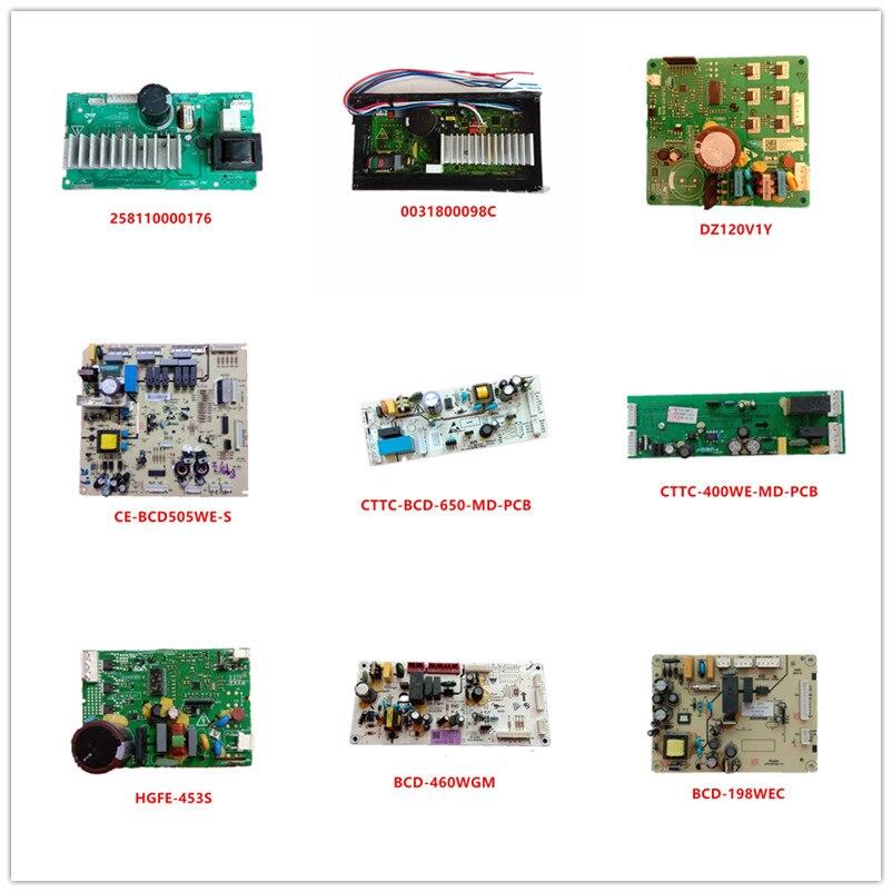 258110000176| 0031800098C| DZ120V1Y| CE-BCD505WE-S|CTTC-BCD-650-MD-PCB|CTTC-400WE-MD-PCB|HGFE-453S|BCD-460WGM|BCD-198WEC Used