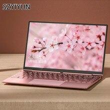 14 Inch i7-6500U Mini Metal Laptop Slim Business Work Portable PC Compu