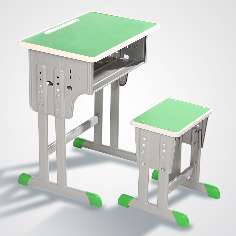 Tables And Chairs Single Double Lifting Desk High School Primary And Secondary School Training Children's Learning Table