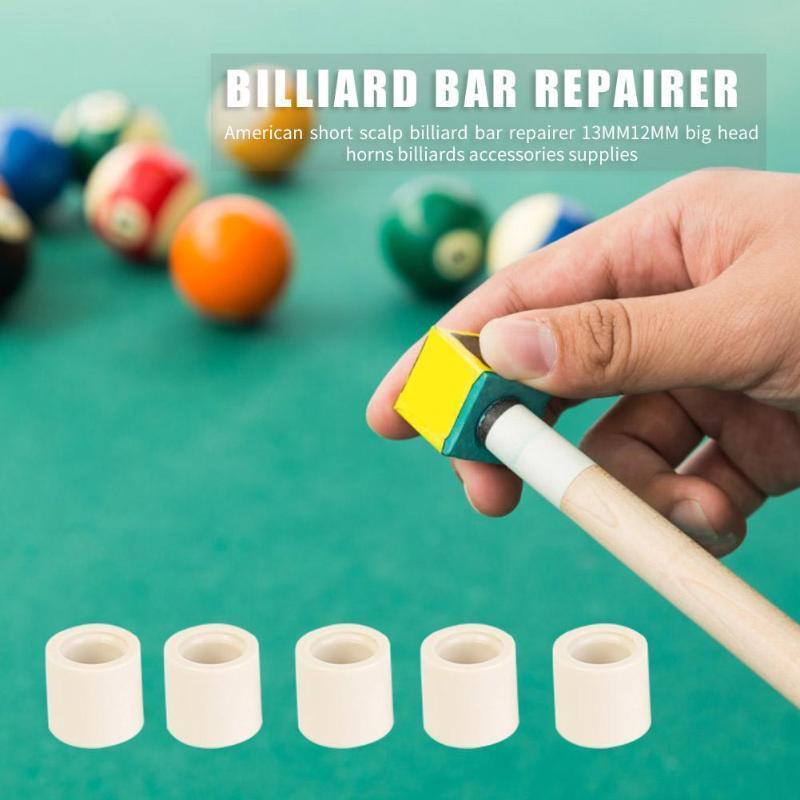 Pool// Ferrules Cue Ferrule Billiard Replacement Ferrules Durable Plastic