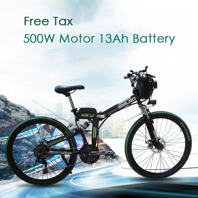 Neue Design 500W 48V 13AH elektrische fahrrad 26 zoll Rad falten elektro-bike hohe qualität
