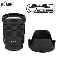 Ombre noir anti rayures lentille et capuchon dobjectif couverture autocollant peau Film pour Sony E PZ 18 105mm F4 G OSS SELP18105G lentille et ALC SH128