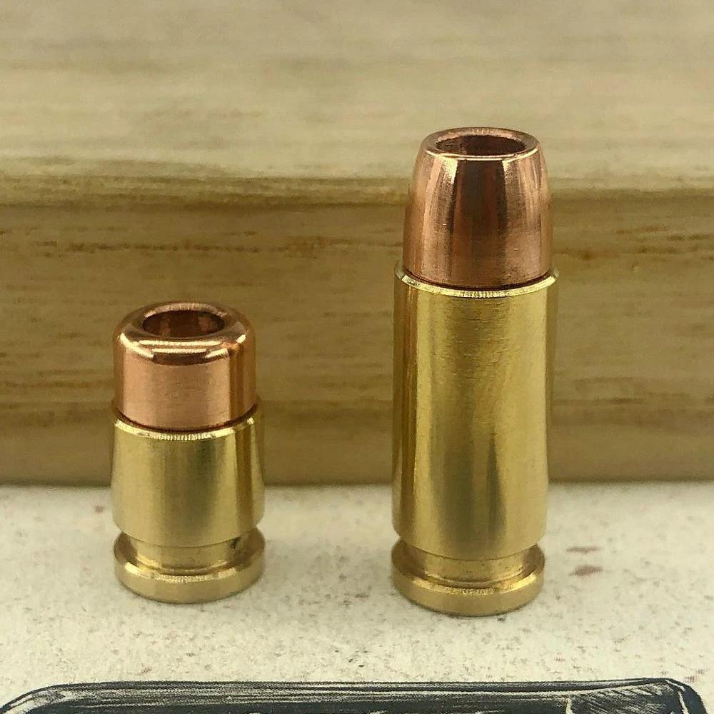 Bullet Bead  Brass-Copper