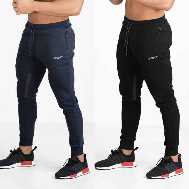 Nieuwe Heren Joggingbroek Sportscholen Fitness lades Bodybuilding Joggers workout broek Mannelijke Casual sporting katoen Slim fit Potlood Broek
