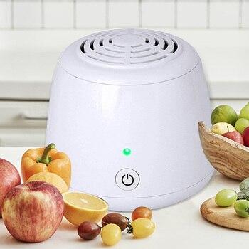цена на Mini Ozone Generator Negative Ion Portable Air Cleaner Sterilization Ionizer O3 Air Purifier Deodorizer for Refrigerator Cabinet