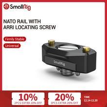 SmallRig Quick Release NATO Rail with ARRI Locating Screw 35mm For ARRI Accessory Mounts   2501
