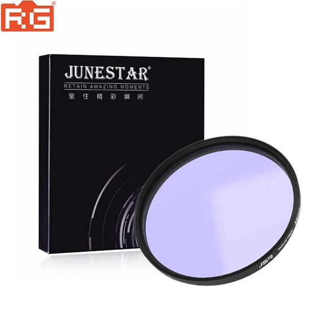 Szkło optyczne 46/49/52/58/62/67/72/77/82mm filtr Clear Night wielowarstwowa powłoka Nano redukcja zanieczyszczeń na nocne niebo/gwiazda