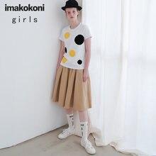 Рубашка imakokoni женская с коротким рукавом простой и универсальный