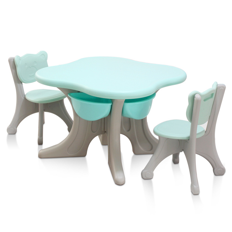 H1 Children's Table And Chair Set Home Baby Table Ins Kindergarten Writing Desk Early Education Game Table Toy Table Table Set
