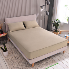 2020 New Mattress Cover With zipper solid color Mattress Protector Cover Six sides full package Bed