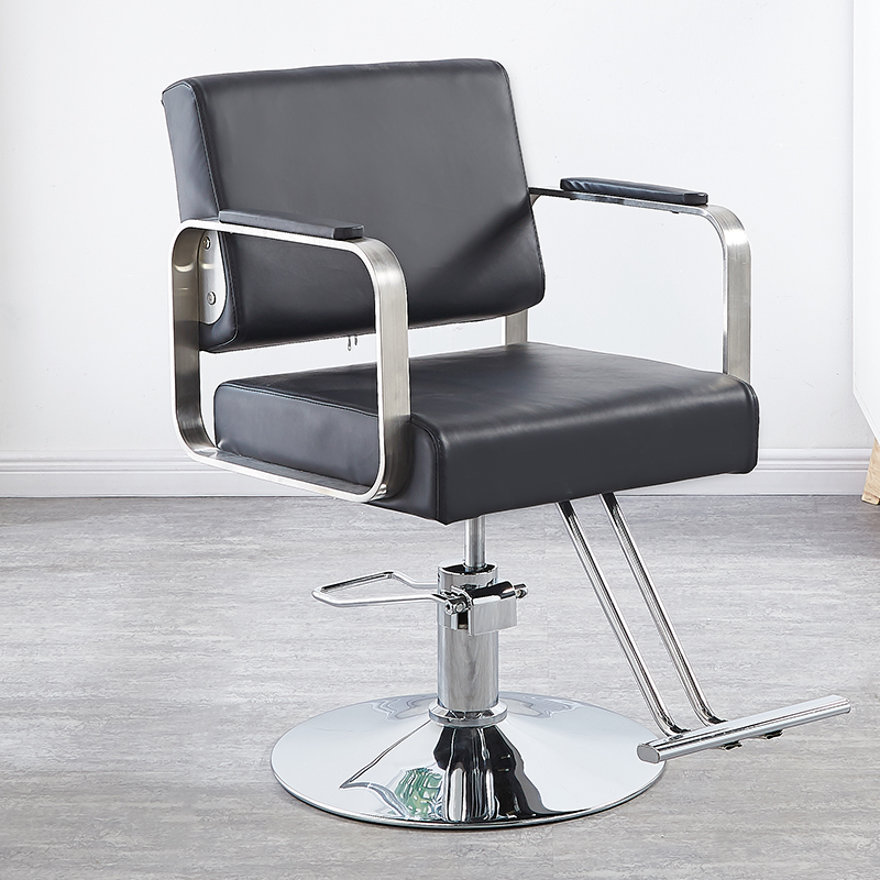 Hairdresser Chair Hair Salon Simple Lift Hairdresser Chair Multi-function Can Be Put Down Disc Hairdresser Chair