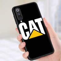 Funda de teléfono para Xiaomi de silicona con logo de Caterpillar, 6, 8, 10, A1, A2, A3 Lite, 9, 9T, 10 Pro, F1, Mix, 2S, Max, 3