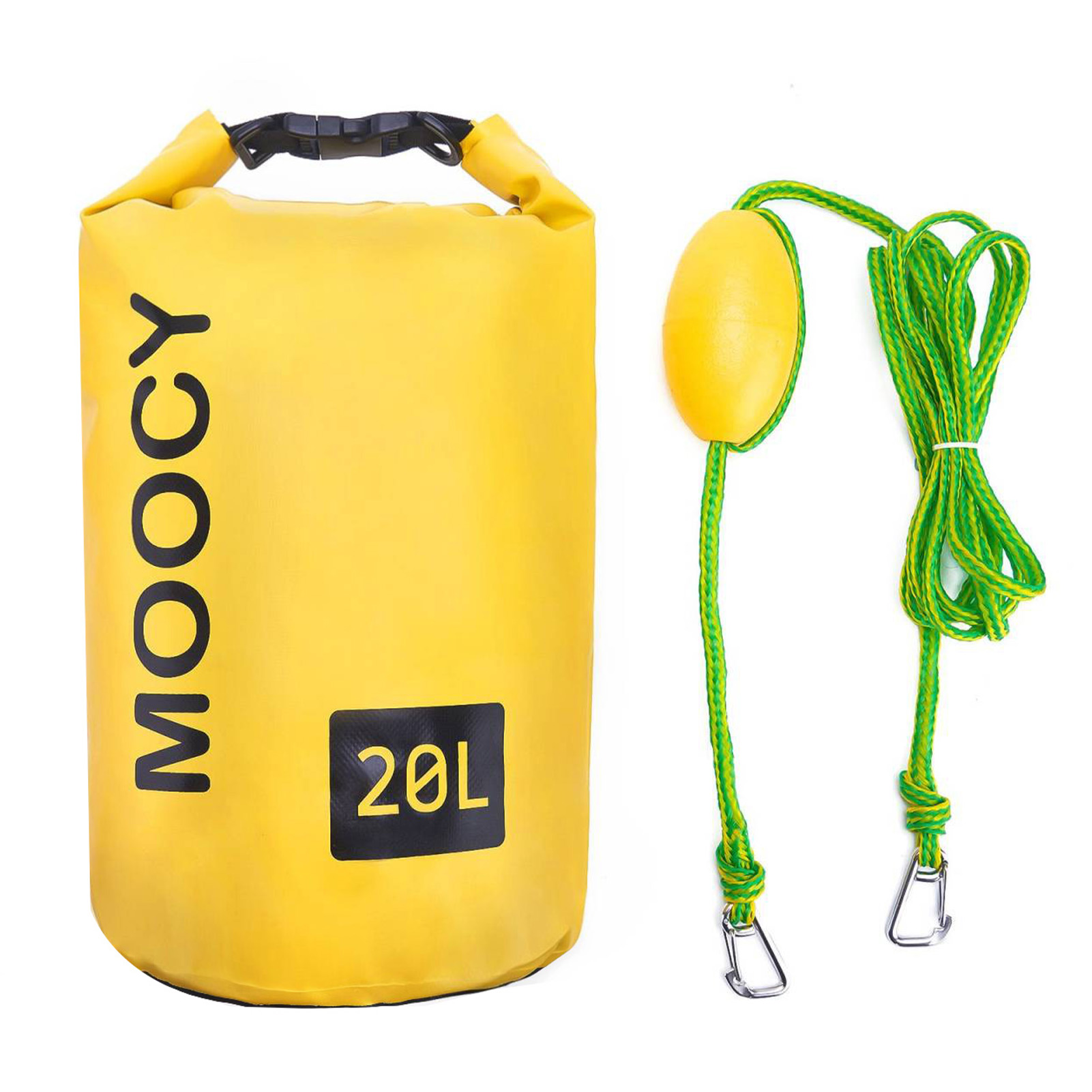 10L 20L Tow Rope Sand Sack 2-in-1 Sand Anchor & Waterproof Dry Bag Storage Bags Dock Line For Kayak Jet Ski Rowing Small Boats