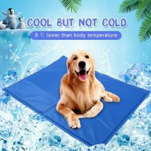 Dog Cooling Mat Pet Ice Pad Teddy Mattress Pet Dog Cool Mat Bed Cat Cushion Summer Pet Keep Cooling Bed Dog Pad For Dogs luxury crate mattress dog bed in pewter bones grey