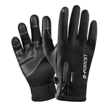Hot Riding Gloves Touch Screen Bike Men Women Winter Thermal Windproof Full Finger Cycling Glove Anti-slip Bicycle