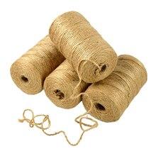 Thread-Tools Burlap String Cords Craft-Decoration Hemp-Rope Jute-Twine Wedding-Gift Handmade
