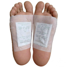 2021 Detox Foot Pads Organic Herbal Cleansing Energize Body Patches Bamboo Vinegar Adhesives Argyi Weight Loss Pad (2.5Y)