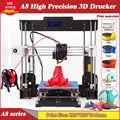 Горячая Распродажа конкурентный 3D-принтер CTC A8 Reprap Prusa i3, высокоточный 3D-принтер DIY FDM с разъемом CD USB
