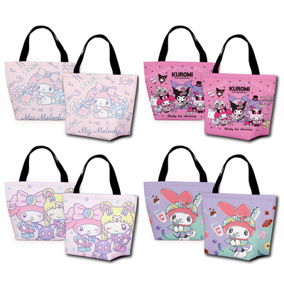 Bolsas de Almoço dos Desenhos Bolsa de Armazenamento Ivyye Sailor Moon Kuromi Melodia Moda Personalizado Animados Tote Quente Portátil Meninas Unisex Novo 1 Pçs