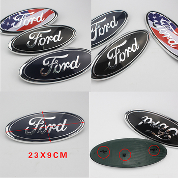 1 шт., автомобильный брелок с логотипом, на лицевой стороне решетка автомобиля спереди и сзади для автомобиля Ford Fiesta EcoSport эскорт Ranger Mondeo Mustang фокус на возраст 2, 3, 4, стайлинга автомобилей|Наклейки на автомобиль|   | АлиЭкспресс
