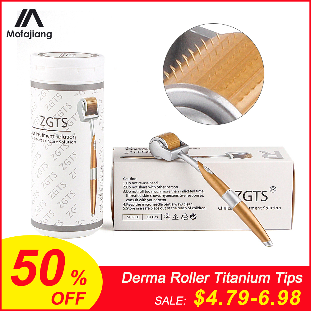 Derma Roller Titanium Tips 0.3mm 0.25mm 0.2mm Titanium Mesoroller For Body Face Treatment Micro Needle Mezoroller Dermaroller