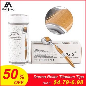 Derma Roller Titanium Tips 0.3mm 0.25mm 0.2mm Titanium Mesoroller for Body Face Treatment Micro Needle Mezoroller Dermaroller фото