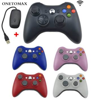 Gamepad For Xbox 360 Wireless Controller For XBOX 360 Controle Joystick For XBOX360 PC Game Controller Gamepad Joypad Receiver alloyseed for xbox 360 wireless controller gamepad pc adapter gaming usb receiver for microsoft xbox 360 console with cd drive
