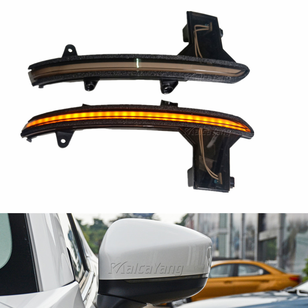 Turn Signal Light Dynamic Car <font><b>LED</b></font> Mirror Sequential Indicator Blinker <font><b>For</b></font> <font><b>Mazda</b></font> <font><b>CX</b></font>-<font><b>5</b></font> KF <font><b>CX</b></font>-8 2018 <font><b>2019</b></font> <font><b>CX</b></font>-9 TC 2016 2017 image
