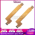 Сменные детали Wyieno для материнской платы Alcatel idol 6070  материнская плата OT6070  ЖК-разъем  основной гибкий кабель + отслеживание
