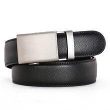 New Men Belt Designer Genuine Leather Luxury Black Belt Men's Belts Automatic Buckle Quality Belt Cummerbunds Male Strap