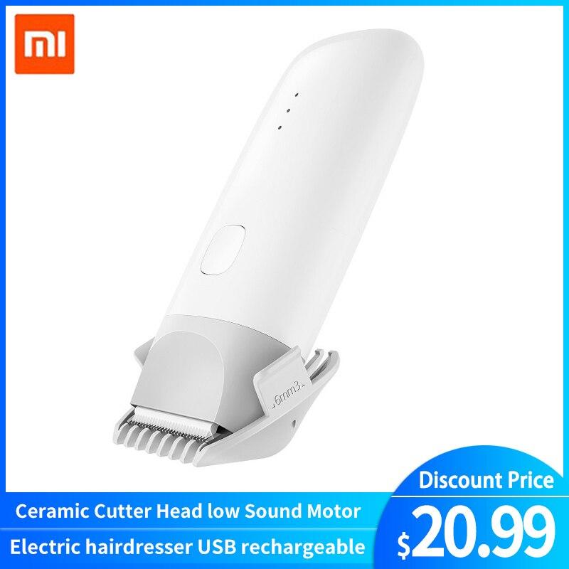 Xiaomi Mitu Electric Hair Trimmer USB Rechargeable Men Beard Hair Clipper Razor Cordless IPX7 Waterproof Hair Cutting Machine