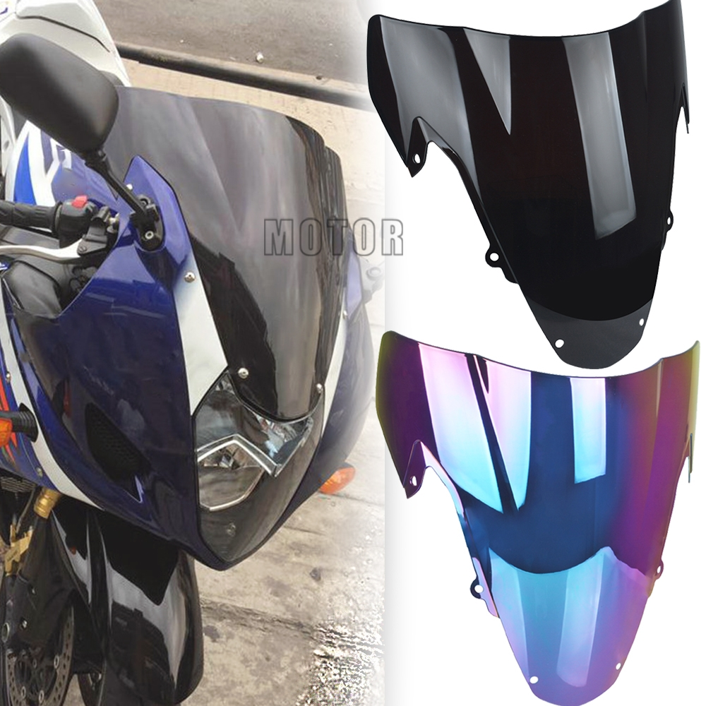 For SUZUKI Wind screen GSXR1000 GSXR GSX R 1000 K3 K4 2003 2004 Motorcycle Accessories Deflectors Windshield Protector Guand image