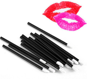 Набор кисточек для макияжа, 50 шт., набор кисточек для макияжа, тушь для ресниц, палочки, кисть для губ, очиститель, чистка ресниц, одноразовые аппликаторы для макияжа