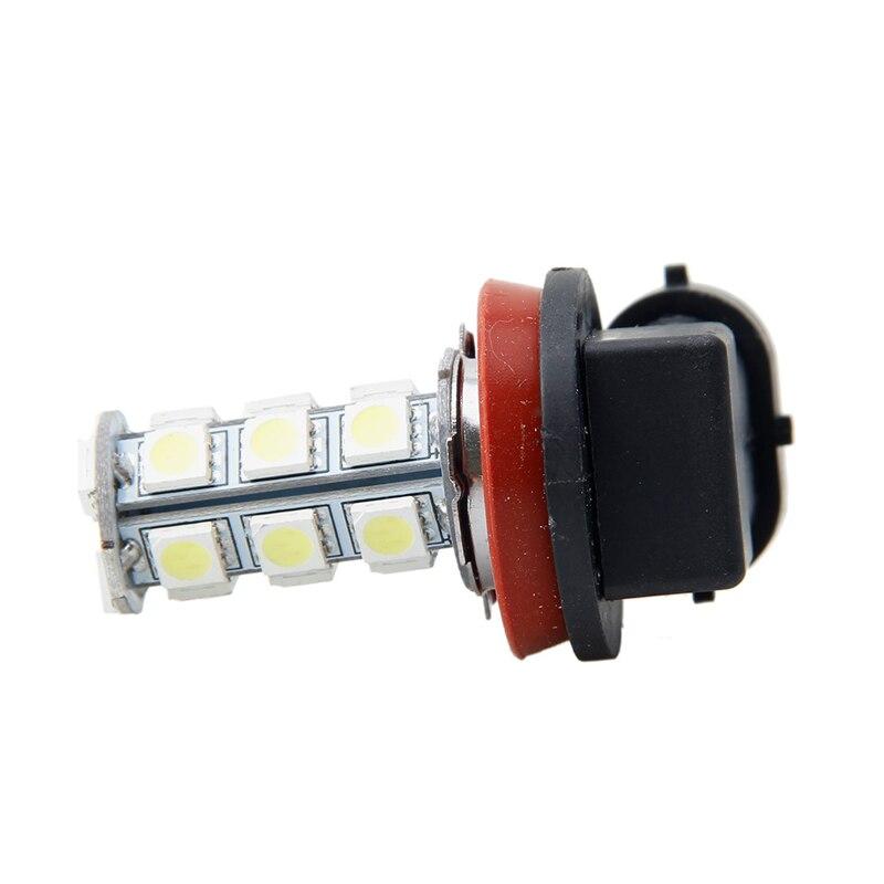 1x H11 5050 18LED 7000K 12V White RV Camper Headlight Light Bulbs Backup Reverse Y51C