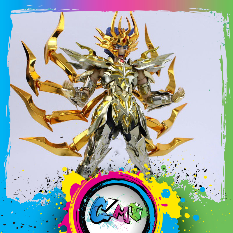 IN STOCK GreatToys EX Cancer Deathmask <font><b>Saint</b></font> <font><b>Seiya</b></font> metal armor <font><b>Myth</b></font> <font><b>Cloth</b></font> <font><b>Gold</b></font> Ex Action Figure image