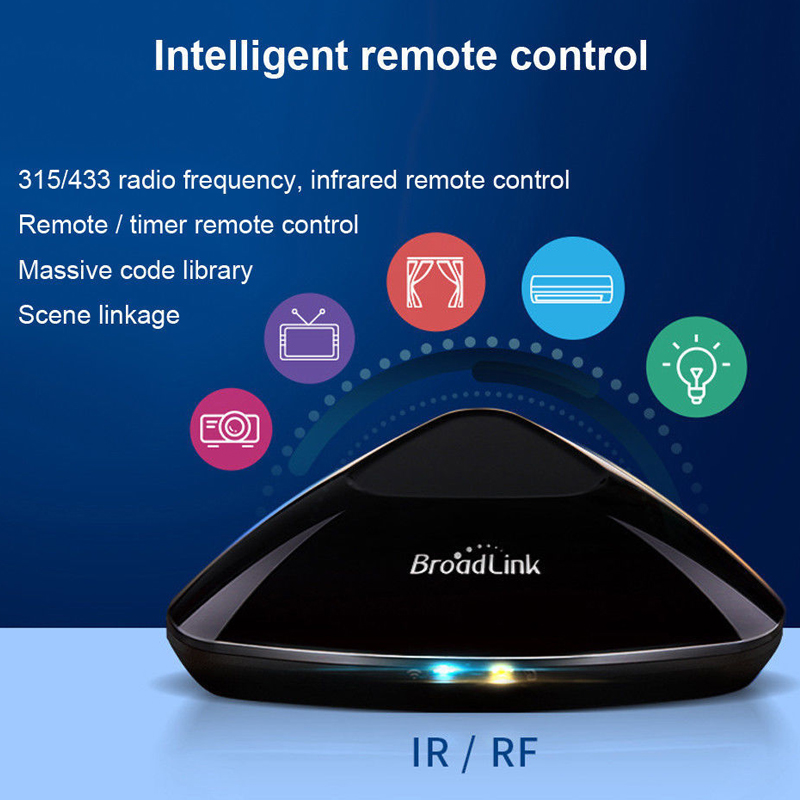 Broadlink Original RM Pro WiFi+IR+RF+4G APP Remote Control Work For Alexa Google Home RF 433MHz Wireless Smart Home Automation