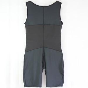 Image 5 - גברים מותניים מאמן מלא גוף Shaper Vest בטן בתוספת גודל 6XL פלדה גרומה בגד גוף פתוח מפשעה זכר Slim Fit להדק תחתונים