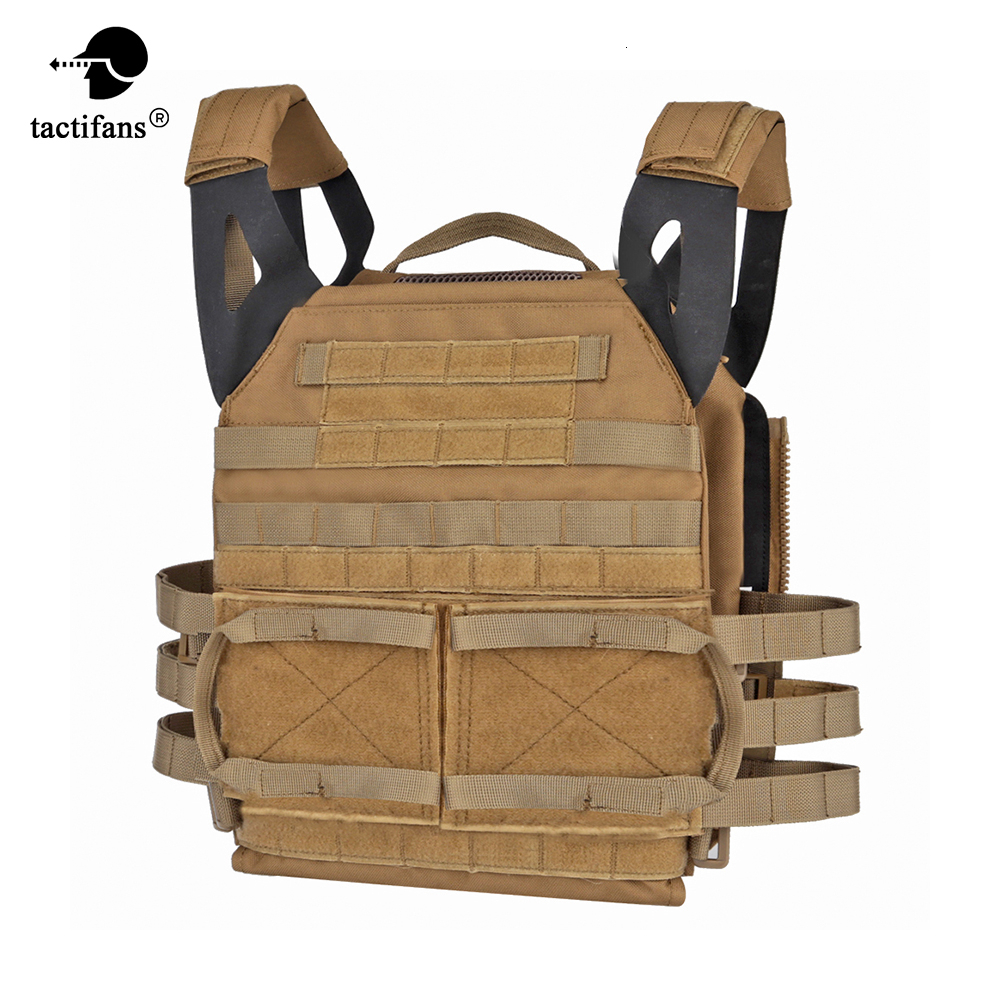 Paintball Jumpable Plate Carrier JPC 2.0 Lightweight Hypalon Combat Tactical Vest Molle Army Shooting Airsoft Accessories Nylon