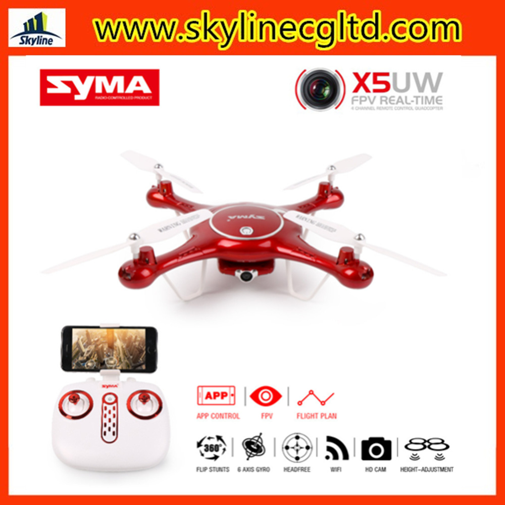 Sima SYMA X5uw High-definition Real-Time Transmission Quadcopter Unmanned Aerial Vehicle Somatosensory Remote Control Toy Plane