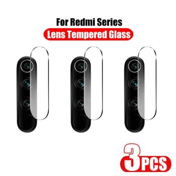 3Pcs Camera Lens Tempered Glass For Xiaomi Redmi Note 8T 7 8 9 Pro Max Screen Protector Glass On Redmi 7 7A 8 8A 9S Film Case