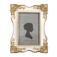 Nordi Luxury Resin Picture Frame Gold Vintage Art High Quality Picture Frames Living Room Photo Wall Home Decoration Gift XK001