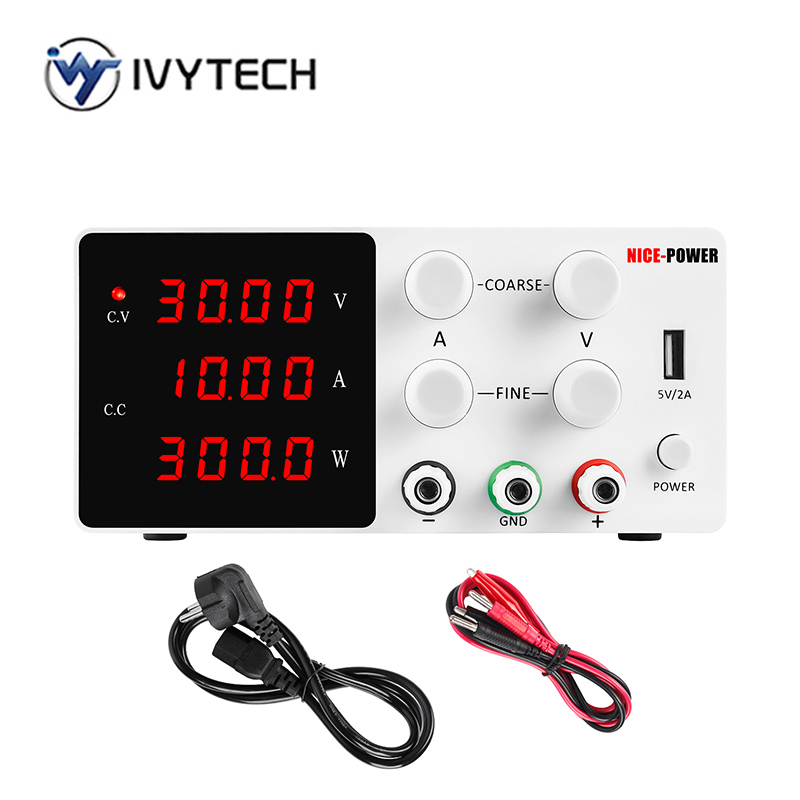 120V 3A 30V 10A 60V 5A DC Switching Lab Power Supply Adjustable LCD 4 Digits Laboratory Source For Phone USB interface 5V 2A-0