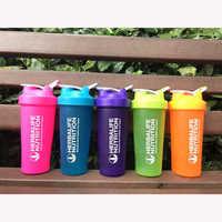 BPA Free Shaker Bottle Whey Protein Powder Mixing Bottle Sports Nutrition Protein Shaker Fitness Water Bottle