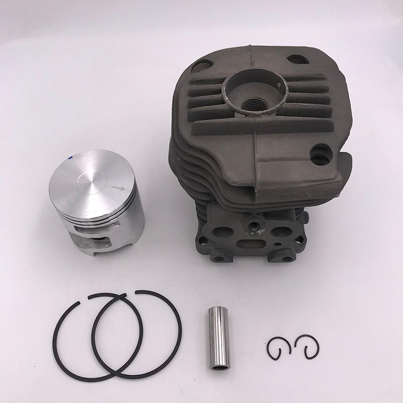Cylinder Piston Carburetor /& Gasket Set For Husqvarna Partner K750 K760 Concrete