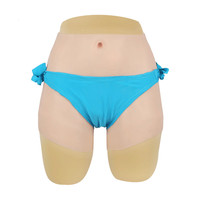 Cross dressing Fake Female Boxer Shorts Transgender Silicone Underwear Disguised As Women Realistic Style Sealed Packaging