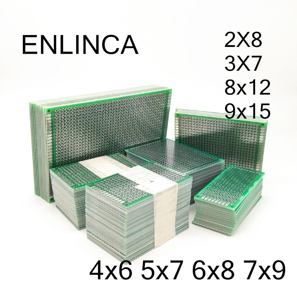 2-5 шт. 5x7 4x6 3x7 2x8 6x8 7x9 8x12 9x15 двухсторонний медный прототип печатной платы, универсальная плата, экспериментальное развитие для Arduino