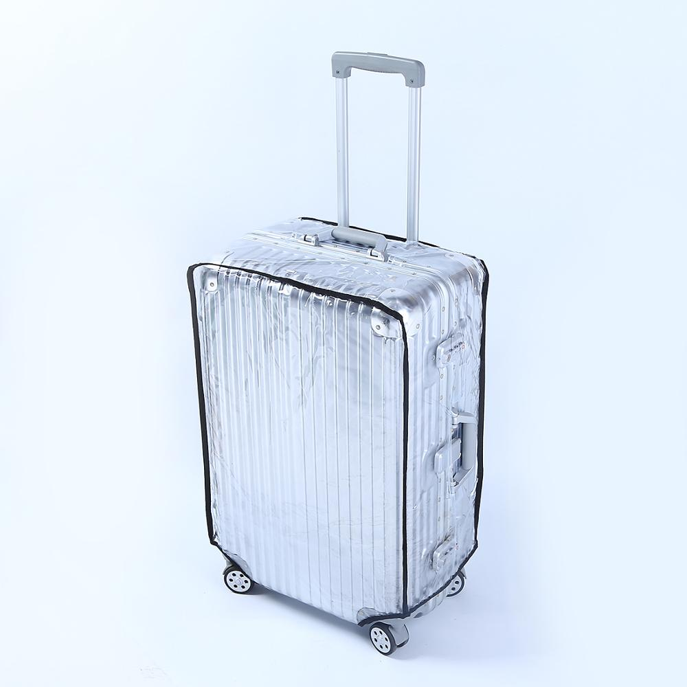 Latest Fashion The New Transparent Suitcase Luggage Cover 18/20/22/24/26/28/30 Inch Size Luggage  Brand