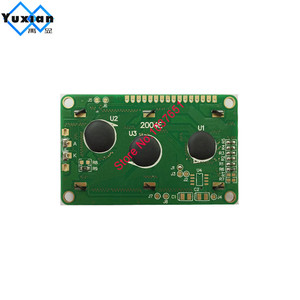 Image 2 - free shipping 2PCS small mini size 2004 20*4 lcd display 77*47mm Blue 5v 2004E instead WH2004D PC2004 C