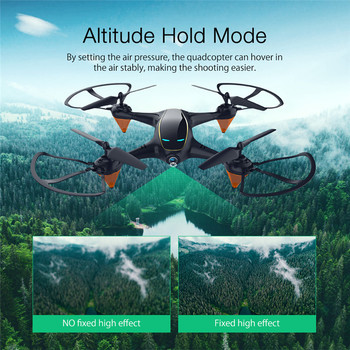 Eachine E38 WiFi FPV with 480P Camera 1Battery Video Altitude Hold Portable RC Drone Quadcopter Aircraft Toys 2